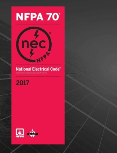 2017 NFPA 70:National Electrical Code US EDITION Paperback BRAND NEW