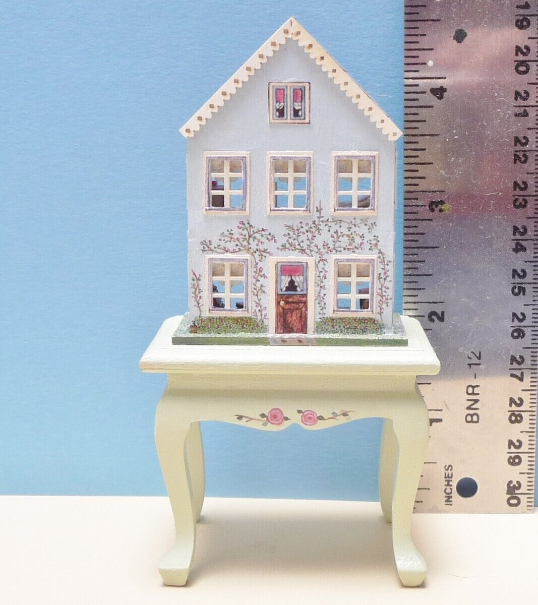 Gorgeous 1 144 Scale OOAK Laura Eppich Miniature Cottage