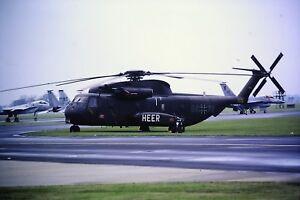 2-131-Sikorsky-CH-53G-Bundeswehr-Heer-German-Army-84-76-Kodachrome-SLIDE
