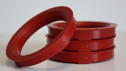 4 x 72.6-66.6 LEGA RUOTA gli anelli di centraggio HUB RUBINETTO C60