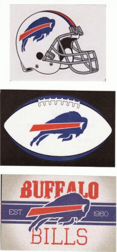1-Helmet 1-Football /& 1-Vintage Banner 3 Officially Licensed NFL Stickers