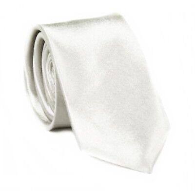 Krawatte Slim Krawatten schmal Schlips Binder Anzug Mode Satin viele Farben 5cm