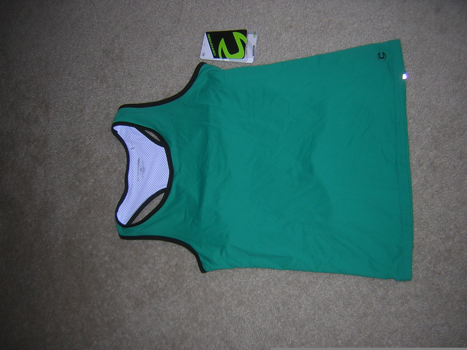 Women's Cycling Liberty Tank in Solid Jade by Cannondale, Summer, Biking NEW NWT