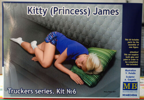 James 1:24 neu 2018 24046 Master Box Trucker Series Kitty Princess