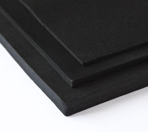 Mousse Eva Foam bricolage Costumes Cosplay & Latex 100x100cm 2 mm Noir
