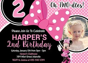 Minnie Mouse TWO Dles Two Toodles Second Birthday Party
