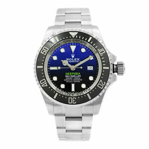 Rolex Sea-Dweller Deepsea D-Blue James Cameron Dial Steel Ceramic Watch 126660
