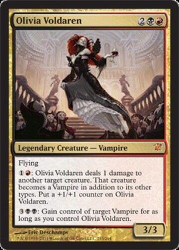 English Innistrad MTG Magic 1x Olivia Voldaren NM-Mint