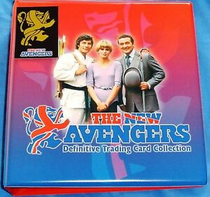 New-Avengers-Base-amp-Chase-Cards-with-Binder-10-Pages-by-Strictly-Ink-2006