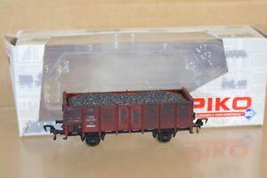 PIKO-54142-WEATHERED-DR-DRG-OFFENER-Guterwagen-MINERAL-WAGON-200876-ESSEN-np