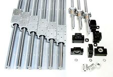 600mm x1000mm CNC Router Machine Kit 20mm Rails BallScrews Linear Motion Bearing