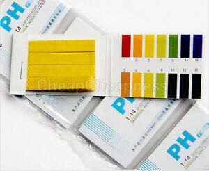 Bandelettes-de-test-d-039-indicateur-de-pH-160x-1-14-Salive-d-039-urine-papier-de-lab-ML