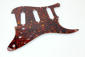 "ST-Style Brown Tortoise ""Typ 2"" Real Cell. 62's Pickguard fits US-Vintage Ser. - Harsum, Deutschland - ST-Style Brown Tortoise ""Typ 2"" Real Cell. 62's Pickguard fits US-Vintage Ser. - Harsum, Deutschland"