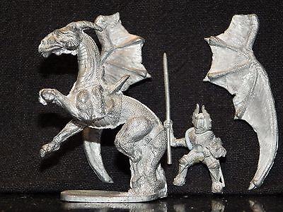 Grenadier MOUNTED DRAGON LORD 2033 Dungeons Dragons Miniature Metal Rider AD&D