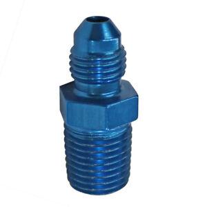 4-AN-X-1-4-034-Male-NPT-Straight-Fitting-Adapter-Fragola-481605-Blue-Aluminum