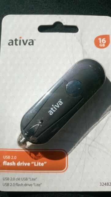 ATIVA 16GB FLASH DRIVE DRIVERS FOR WINDOWS VISTA