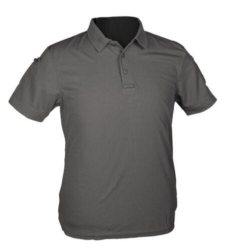 NUOVO Tactical Quick Dry Polo 1//2 BRACCIO A Maniche Corte Polo Camicia Manica Corta T-shirt s-3xl
