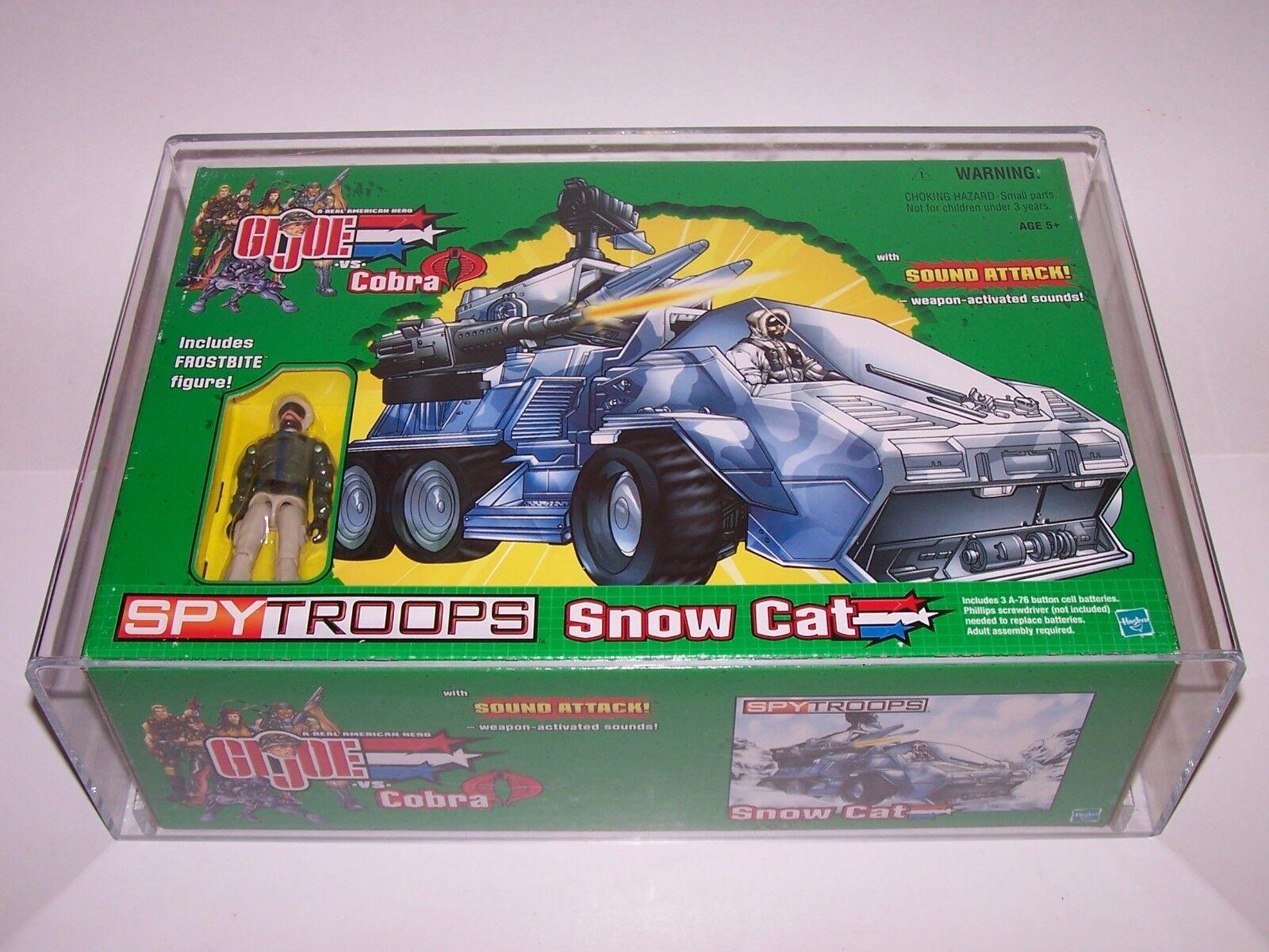 GI Joe VS Cobra Cobra Cobra Spy Troops Snow Cat Includes Frostbite Action Figure w Case NIB ebab64