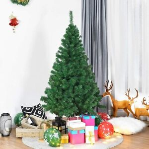 COSTWAY-Sapin-de-Noel-Arbre-de-Noel-Artificiel-pour-Decoration-de-Noel-1-5-2-4m