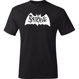 The Batcave Goth Unisex Black T Shirt  Postpunk New Wave Syntpop Deathrck Gothic