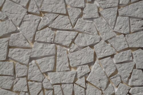 Wegplatten Bruchstein-Design  180cm² Krippenzubehör Ruinenbau Bodenbelag