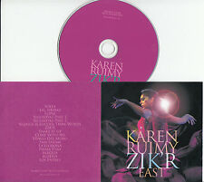 KAREN RUIMY Zik'r East 2015 UK 16-trk promo test CD Youth