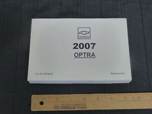2007-Chevrolet-OPTRA-Car-Owners-Manual-New-GM-Reprint