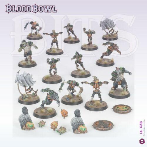 Bits blood bowl necromantic horror team the wolfenburg crypt-stealers bitz