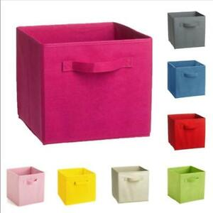 Image Is Loading Fashion Box Room Folding Fabric Cube Storage Home