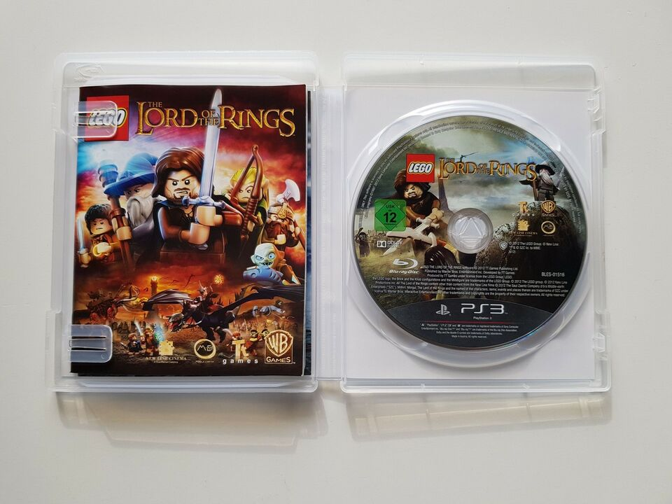Lego Lord of the rings, PS3