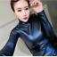 Womens-Vogue-Slim-Warm-PU-Leather-Tops-Casual-Turtleneck-Blouse-Plus-Shirt-New thumbnail 14