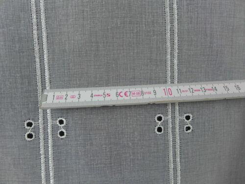 m//€ 28,10 Scheibengardine Gardine Clip Panneaux 5960 ecrue Höhe Variabel