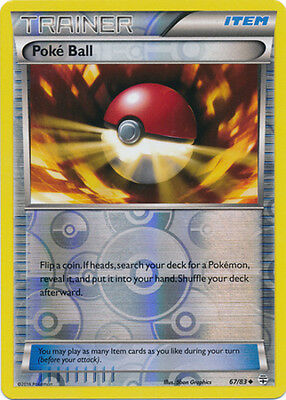 Uncommon Pokemon Generations M//NM English x4 PokeBall 67//83