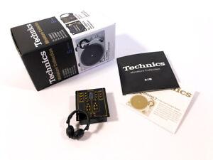 Technics-Miniature-Collection-SH-DJ1200-amp-EAH-DJ1200-Neuf