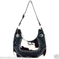 American West Annie's Concealed Weapon Tooled Leather Hobo Handbag Purse 9150429