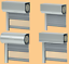 Kunststofffenster Dreh Kipp  1600 x 1000 Breite x Höhe in mm