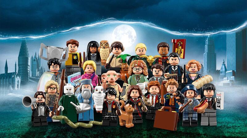 Lego Harry Potter da Collezione Serie Scatola Sigillata di 60 Figure Mini 71022