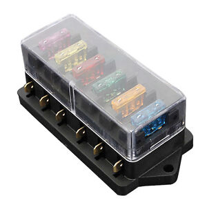 blade fuse box wiring diagram site 6 way fuse holder box car vehicle circuit blade fuse box block highlander fuse box blade fuse box