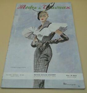 Magazine Modes & Travaux avril   1950