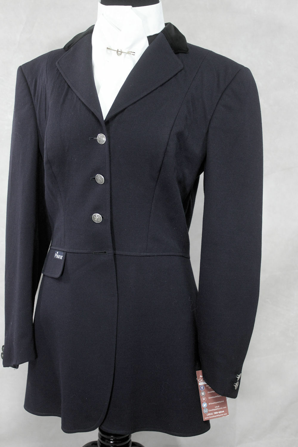 Pikeur Navy Dressage Coat, Size US 10L Ref   1624-13  wholesale cheap