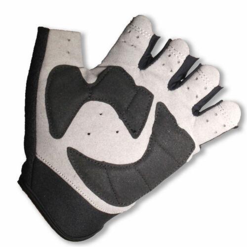 Anti Vibration Gloves CYCLING FINGERLESS GLOVES SBR Gel Padding S//M//L