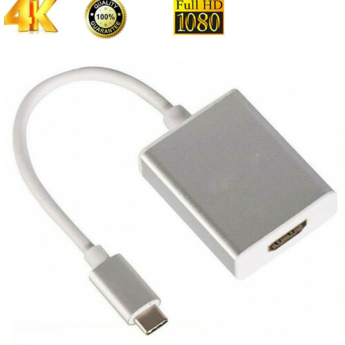 USB C to HDMI Adapter 4K Type-C  to HDMI Cable Thunderbolt 3 for Macbook Pro