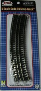 ATLAS-2520-N-Scale-Code-80-Track-11-034-Radius-Crv-Qty-6-pieces