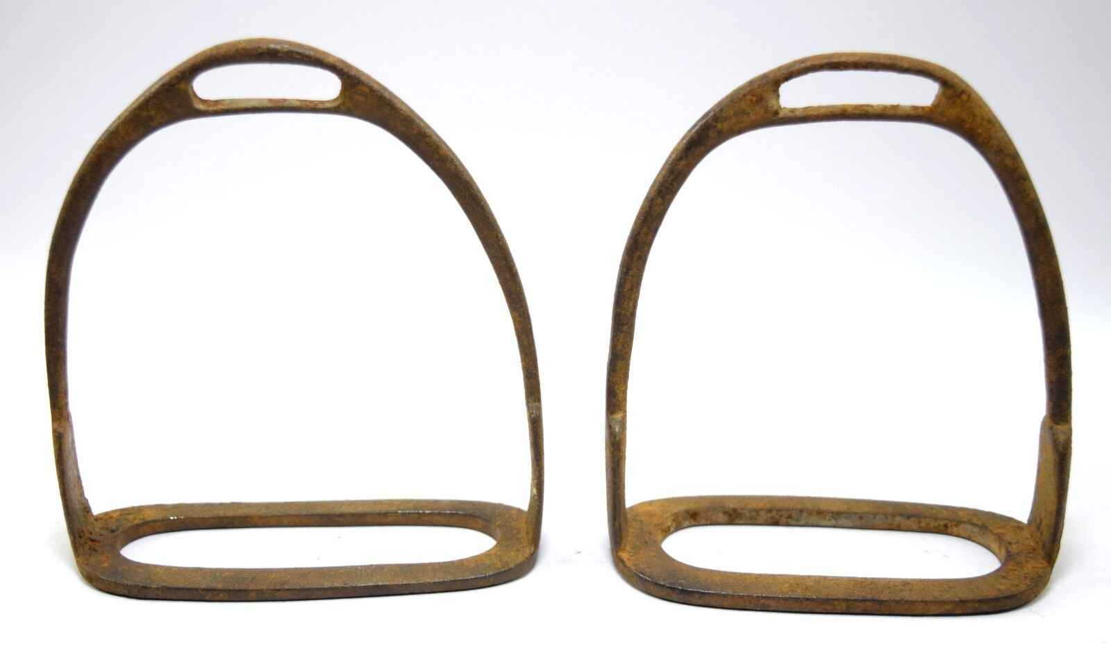 Indian Collectible Vintage Horse Pedal Feet Stirrup Pair Wall Décor. G42-156 US