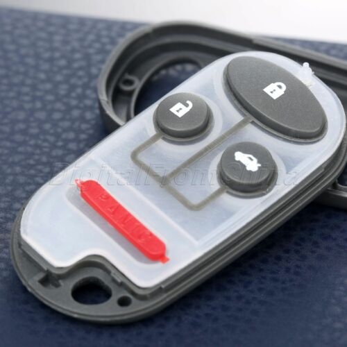 Replacement 4 BTN Keyless Remote Key Case Shell Fob for Honda S2000 Civic Accord