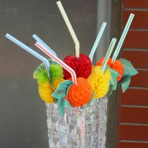 50x-3D-Tropical-Fruit-Cocktail-Pailles-Hawaiian-Beach-Party-Pailles