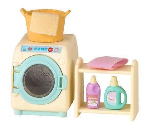 Sylvanian-Families-Calico-Critters-Washing-Machine-Set