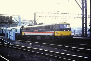 1-115-Class-86-Passenger-waiting-to-leave-the-station-Kodachrome-Slide