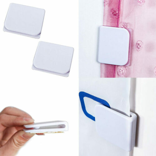 2pc Shower Curtain Clips Anti Splash Spill Stop Water Leaking Guard Bathroom zxc