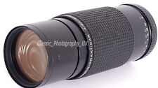 RARE!! Carl ZEISS DDR VARIO-Prakticar 4/80-200mm MC Lens for Praktica PB + EOS